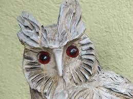 grey wooden owl sculpture with free image peakpx