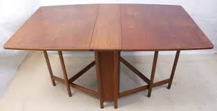 Rectangular Drop Leaf Table Magnificent Narrow Spacesaver Dropleaf Dining Table To Seat Six