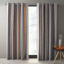 Blue And Orange Curtains Beautiful Yellow And Grey Striped Curtains 2018 Curtain Ideas