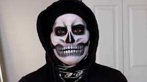 Halloween Skull Face Makeup by Halloween Skeleton Skull Makeup With Art Junki Youtube