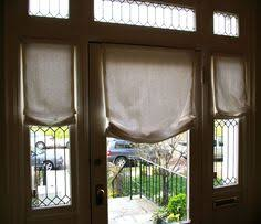 Sidelight Panel Blinds Curtains Drapes And Blinds For A Glass Front Door Glass Front
