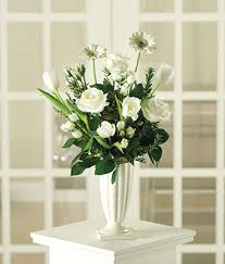 white floral arrangements classic white bouquet at from you flowers