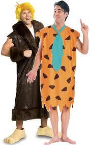 Flintstone Halloween Costume Couples Fred U0026 Barney Flintstones Fancy Dress Costumes Fancy