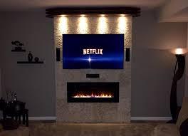 tv fireplace mount binhminh decoration