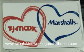 marshall gift card last minute s day ideas from marshalls and t j maxx gift