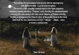 original meaning of the word pagan metal gaia
