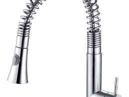 kitchen faucet awesome coiled kitchen faucet kohler spring