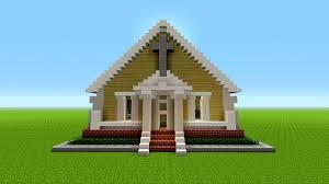 Church House Minecraft How To Build A Church Easy Minecraft Survival House