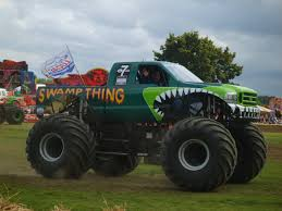 swamp thing monster trucks pinterest swamp thing monster