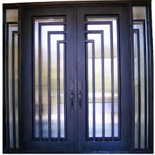 Exterior Doors Nyc Modern Iron Doors New York Residential Iron Custom Made Metal