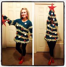 Christmas Tree Costume For Kids - 53 diy ugly christmas sweater ideas