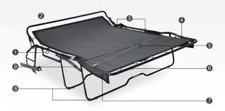 Sleeper Sofa Repair Sleeper Sofa Replacement Parts Radkahair Org Home Design Ideas