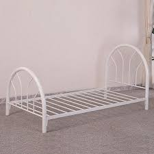 bed frame twin iron frames iusopfql within inspirations 1 best 25