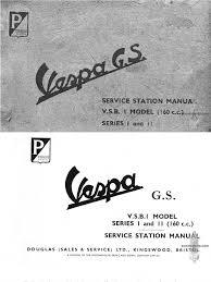 vespa gs service manual