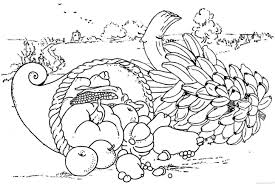 best thanksgiving food coloring pages free 5385 printable