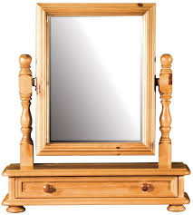 dressing table with mirror and drawers buy ascot pine dressing table mirror 1 drawers online cfs uk