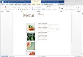 menu template for mac best menu maker templates for word