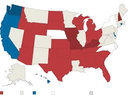 Florida Election Map by In A Further Blow To Democrats Republicans Increase Their Hold On