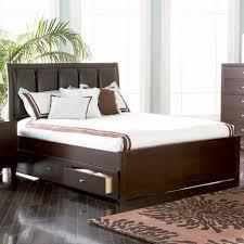 Jansey Upholstered Bedroom Set Bed With Storage Queen Allen Queen Panel Bed Wstorage Main