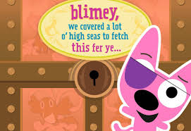 hoops u0026yoyo pirate funny birthday sound card greeting
