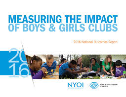 2016 national youth outcomes report by boys u0026 girls clubs of