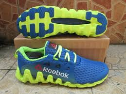 Jual Reebok Zigtech Original jual sepatu running original reebok zigtech big n fast blue yellow