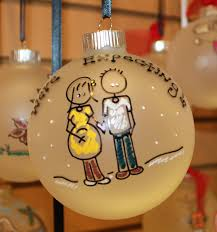 soon to be a mommy christmas ornament personalized for free