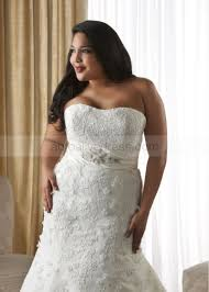 strapless bustier for wedding dress strapless corset back ivory lace plus size wedding dress