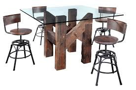 turning house furniture ghent industrial beam counter height table