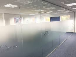 Partition Wall by Glass Partitioning At We Want Any Car Ltd Staffordshire Glass