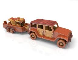 jeep bike kids jeep ranch wrangler wood u0026 trailer 4 wheel bike toy plan for plan