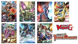 cardfight vanguard cardfight vanguard g we are trinity dragon booster