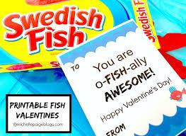 fish valentines blogs printable fish pun valentines