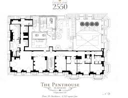 floorplan of the week unfinished duplex penthouse in chicago