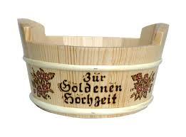 goldene hochzeit blumen geschenk korb zur goldenen hochzeit bestellen