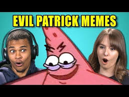 Evil Meme - college kids react to evil patrick meme compilation savage