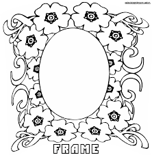 frame coloring pages coloring pages to download and print