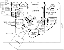 Mediterranean Floor Plans Mediterranean Style House Plan 6 Beds 7 00 Baths 7507 Sq Ft Plan