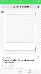 polaroid template shared by lika u2014 ology on we heart itpolaroid