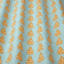 scandi pears fabric tangerine scandipearstangerine iliv