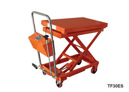 Hydraulic Scissor Lift Table by Lift Table With Scale Foot Pump Hydraulic Scissor Lift Cart