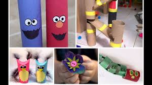 best toilet paper roll crafts for kids youtube