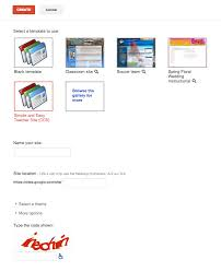 google sites for teachers
