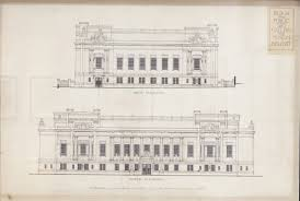 the ulster museum evolution amidst revolution irish proposed west and north elevations 1914