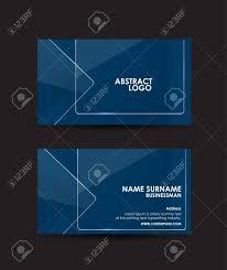 framework design abstract transparent clear glass framework business card vector