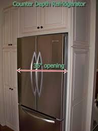cabinet depth refrigerator dimensions counter depth refrigerator size traversetrial