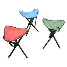 2017 camping folding stool portable 3 legs chair tripod seat