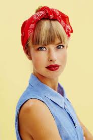 1940s bandana hairstyles rockabilly hairstyles 11 trademarks of this charming vintagey look