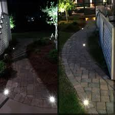 Patio Paver Lights Led Driveway Paver Lights Led Lights Ideas