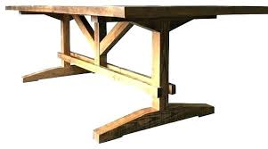 making a trestle table how to build a trestle table build trestle table inforechie com